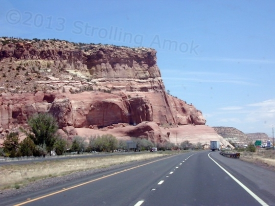 I-40 Eastbound in New Mexico