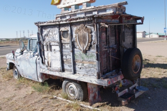 A vintage hippy RV, I gather.