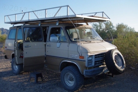 One camper, Steve, had the high-zoot solution: a 4WD van. Pressed hard, it might go where my F-250 can't.