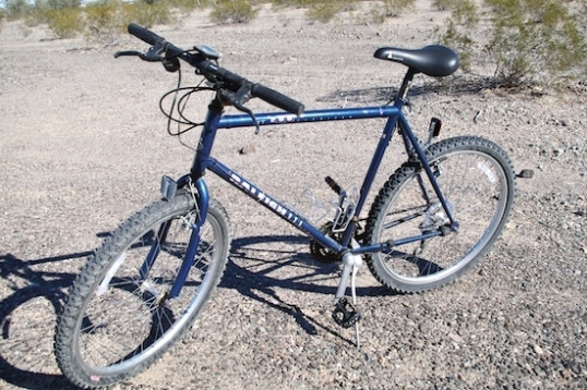 The standard seat on this '93 Raleigh MT200 poses real problems despite its claimed inclusion of gel padding.