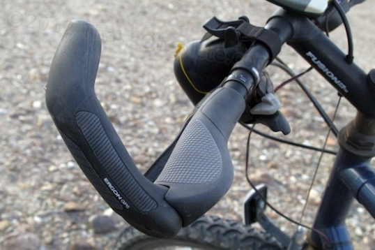 The Ergon GP5 handlebar grip.