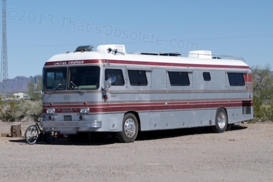 I'm guessing this is an MCI motorhome, not a later conversion. They tend to last because they really are a bus underneath.