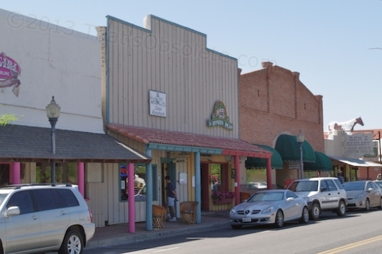 Just some typical shops along the main drag.