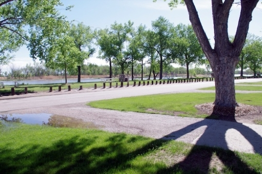 The Cody Park Campground in North Platte, NE.