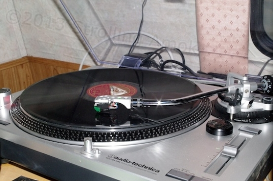 This turntable is actually for DJs. I don't care about the speed matching a bit, but the direct-drive and general toughness are handy in a camper.