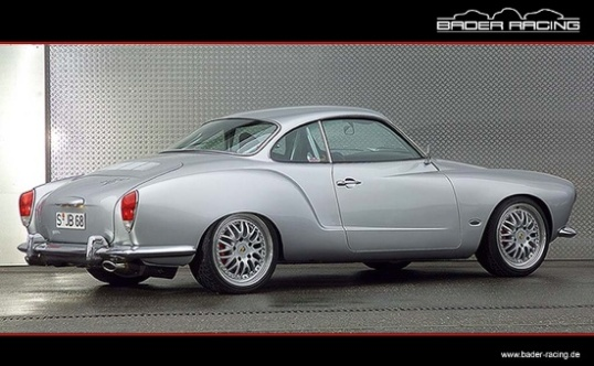 This Karmann Ghia is one in spirit only, having been seriously cleaned up and rodded with a Porsche Engine. Still, all the original lines are there.