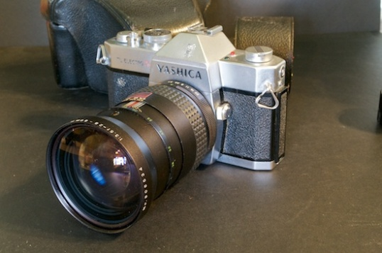 35mm cameras actually have a following, but there are so many around that prices are still very low.