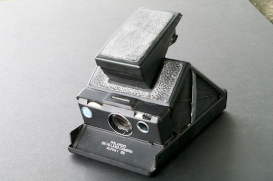 The groundbreaking XS-70 was the first of the Polaroids that kicked out a print that developed before your eyes, and there were no waste materials to deal with. Unlike all other Polaroids, it was also a true SLR.