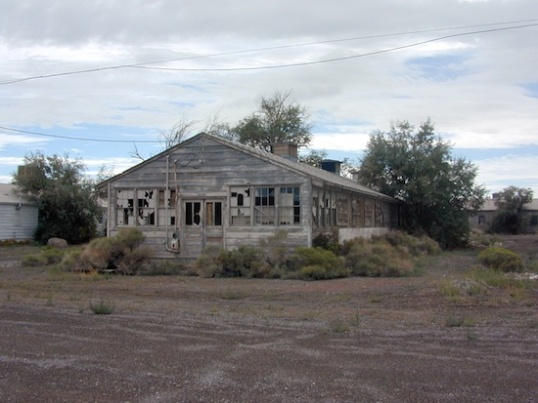 A single bunkhouse.