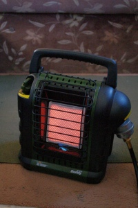 Like a campsite but without the smoke, the silent heater can warm the entire trailer even in freezing temps.