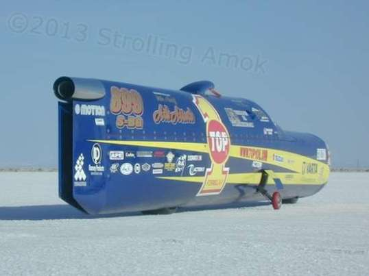The Ack Attack, current and repeated world's land-speed record holder for motorcycles.