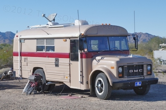 This school bus was selected because it's from Michigan and has a factory insulation package, taking some of the work out of its conversion. With a short wheelbase and fairly decent ground clearance, off-road camping options multiply.