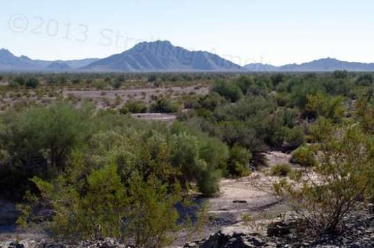 If you want to know where Quartzsite once stood, you're looking at it.