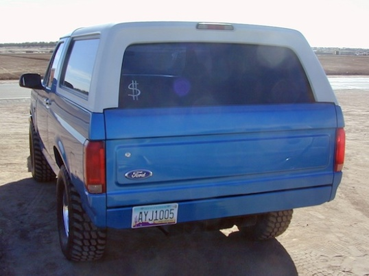 Some states do not require rear bumpers, and owners opt for the plain panels, or swap them in for a cleaner appearance.