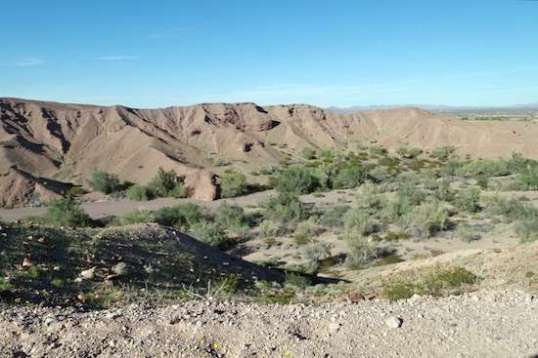 A lot of washes in Arizona can get extremely wide.