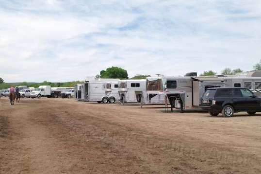 Naturally, there were tons of horse trailers, including a few from dealers on display.