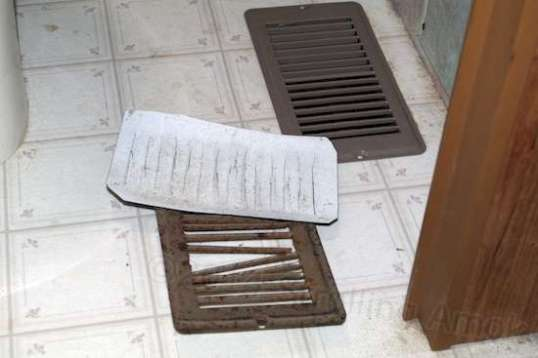 Wow! Floor registers! Spooky! No wait, this is the mundane one...