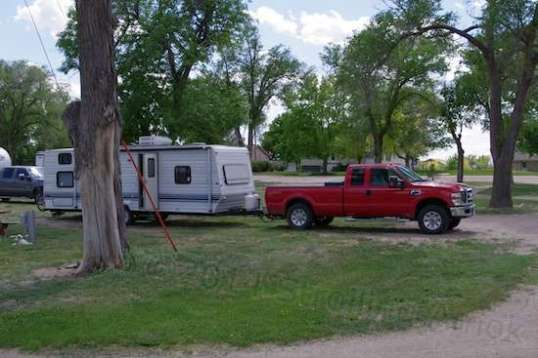 Ahhh, west and wewaxation at wast! If you've ever wanted to run your own RV park into the ground, here's your chance. The park and home on it are for sale.
