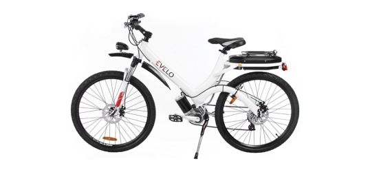 The Evelo Aurora, a less practical model with better power options.