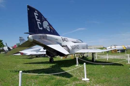 The F-4 Phantom was the workhorse of the Vietnam war. As a multi-role aircraft, this droopy-looking bent plane could exceed Mach 2, lift 22,000 pounds of ordinance, and generally outperform all previous fighters.