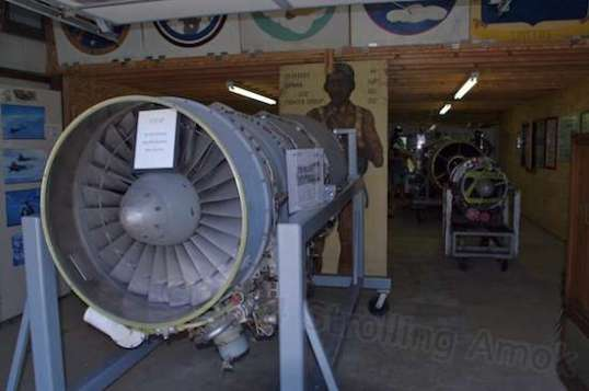 Tired yet? Not to be missed is the building that houses jet engines and memorabilia.