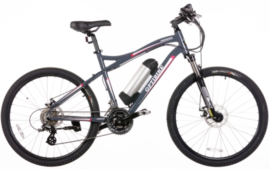 Optibike offers several pure-American models, and has been called the Ferrari of e-bikes. Even their budget Pioneer is refined, if pricey.