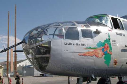 The Maid In The Shade nose art is a nice touch.