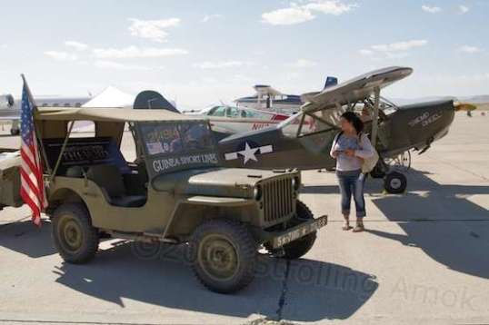 "The ""Swamp Angel"" was cute, and the matching 1944 Jeep was used in a movie prop."