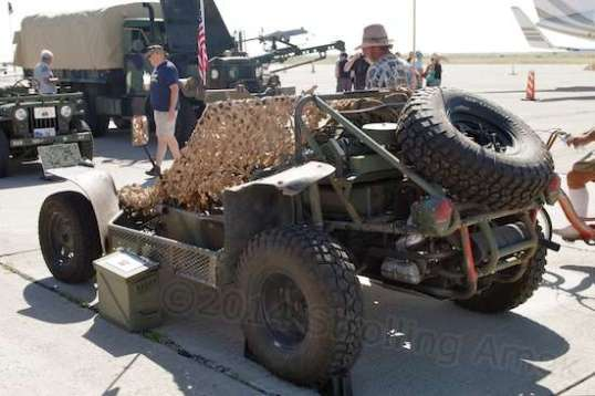 This made me wonder if the Army evaluated dune buggies as a platform at one time.