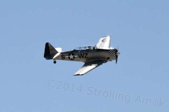 The T-6 Texan is based on a 1935 prototype, and although designated as an advanced trailer early on, has been used in combat roles by many nations into the 1970s.