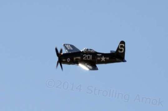 The F8F Bearcat is a classic warbird.