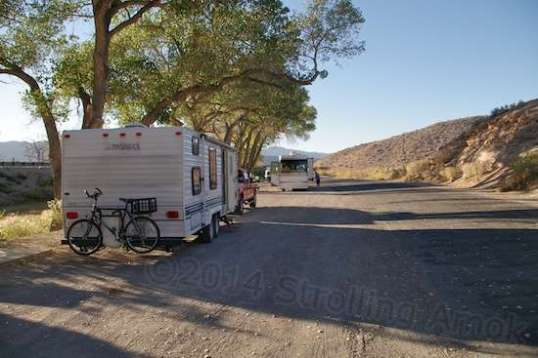 A rest stop on 95, alongside the Pahranagat National Wildlife Reserve.