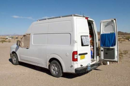 How would you like to be able to stand up straight in your van camper?