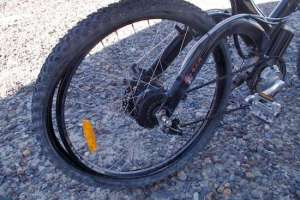 A flat tire on an e-bike can do more than just damage the rim. They can quickly immobilize the bike while being walked along.