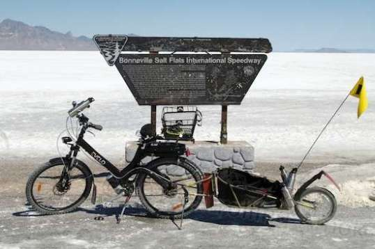 Take ten minutes to add full-boogie protective gear, and it's ready to haul camera and video equipment onto the salt flats to capture land speed record attempts.