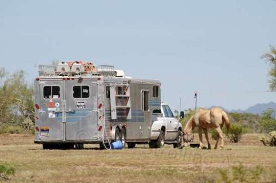 This is more my style, if the goal is to go traveling and horse camping for awhile.