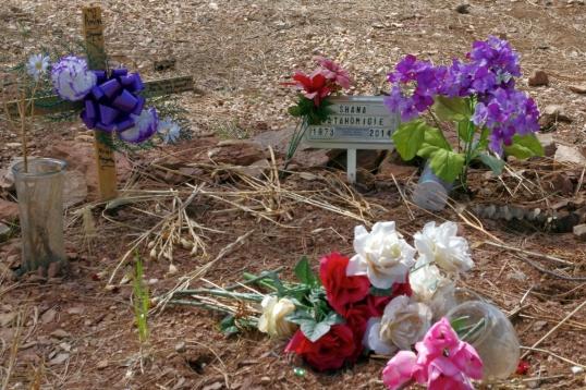 Same grave. 1973-2014