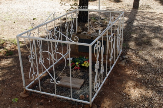 Can a grave be tacky? Looks like New Orleans.
