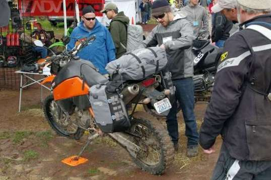 Overlanding on motorcycles is a serious affair, but quite popular.