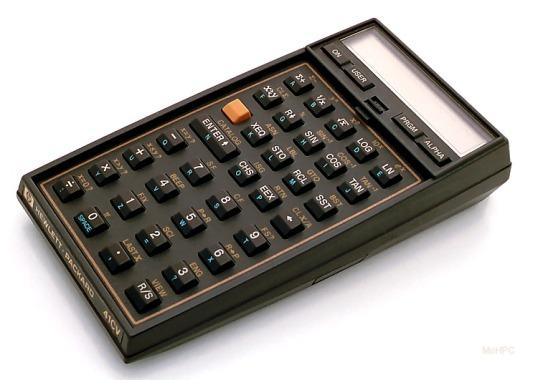 Hewlett-Packard's HP-41CV.