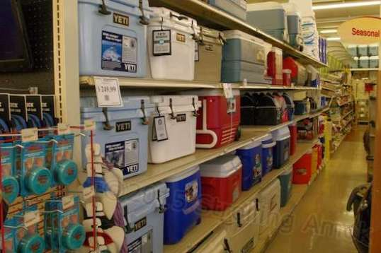 Ever see an Ace Hardware store that stocked Yeti coolers? I didn't think so. But this is Green River, Wyoming.