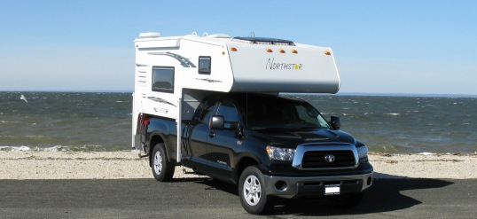 This modest Northstar represents the functional core of hard-side truck campers.