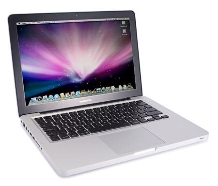 Stock shot of a Macbook Pro 13-inch. A laptop, just like any other laptop, only more so.