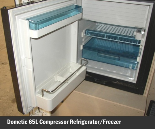Nope, not expansive, but it will have to do. Icebox section for chilling margarita glasses is that white cover on top.