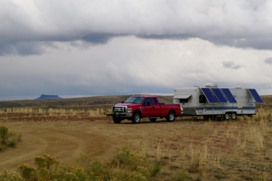 This is not so much for the same ol' camper as it is for the clouds rolling past.