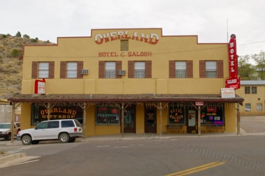 This hotel and saloon is the preferred place to spend the night in such a historical mining town.