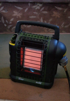 The Mr. Heater Buddy.
