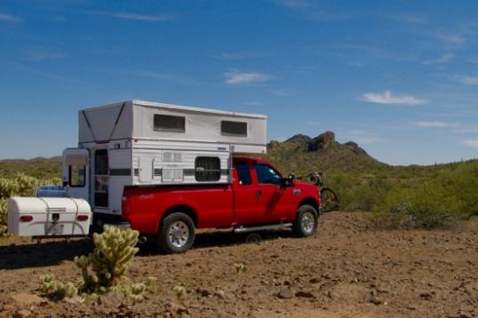 Camped!