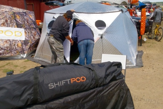 There's been a vocal contingent out there for years insisting that a yurt is inherently the best, good karma camping structure going. Now, it's offered to vehicle-based adventurers and packs down to a somewhat bulky but workable storage bag. Far out, man!