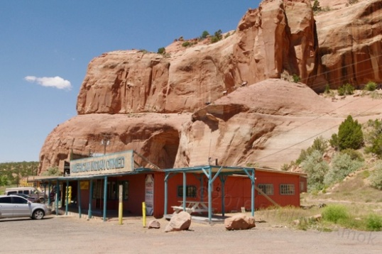 This Exit had a long string of shops and marked the beginning of Route 66/NM118.